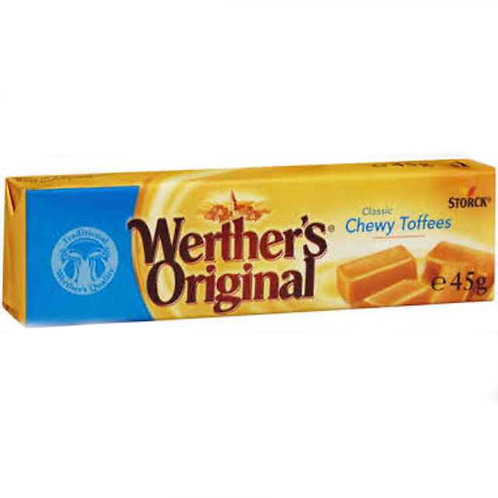10 tubes Werther's Chewy Toffee