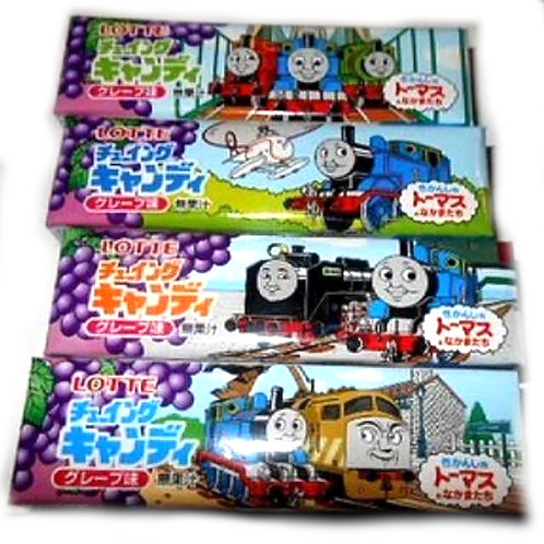10tubes Thomas Chewy Candy