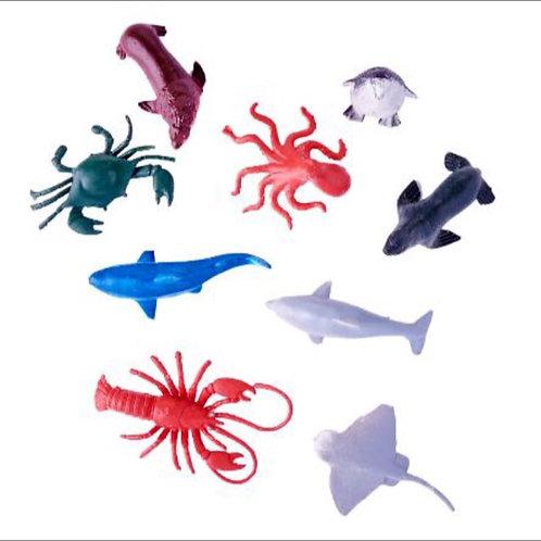20pcs Sea Animals Toys