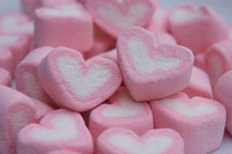 20pkts Marshmallows Pink Heart Shape - 3pcs per pkt