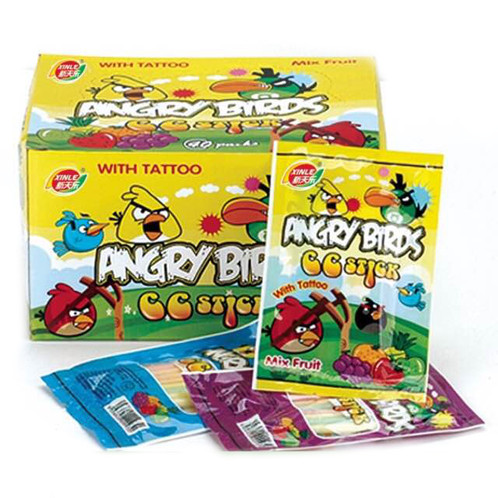10pkts Angry Bird CC Sticks | Retro candy store - 90s Candy Society