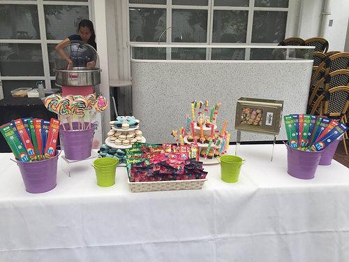 Tremendous Candy Buffet Setup Theme Lollipops Galore Complete Home Design Collection Barbaintelli Responsecom