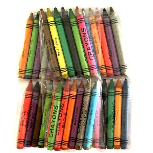 10pkts Crayons - 6pcs/pkt