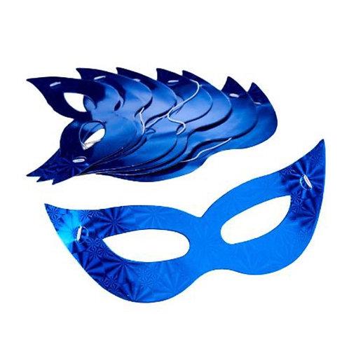 10pcs Party Eye Mask - Blue