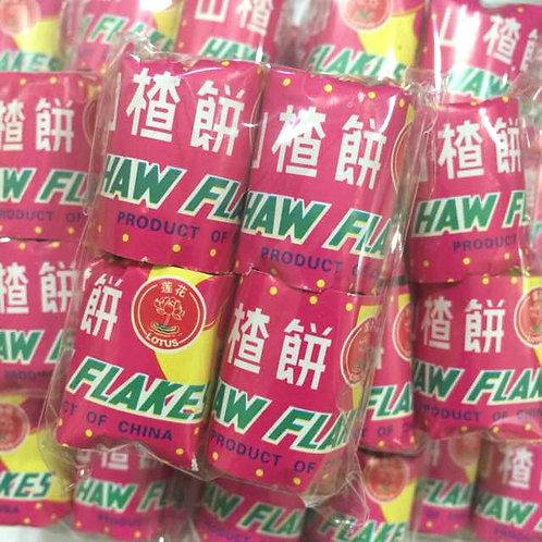10pkts x 4tubes Haw Flakes
