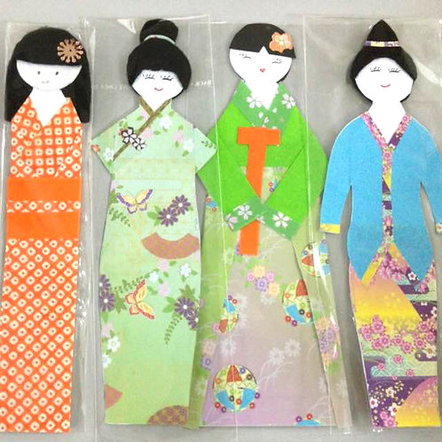 10pcs Bookmarks made by the Visually Handicapped