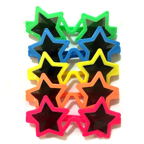 10pcs Star Sunglasses