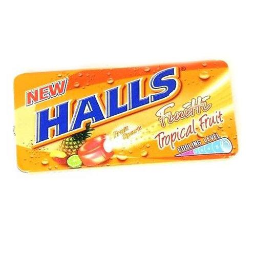 10pkts Halls Fruitti