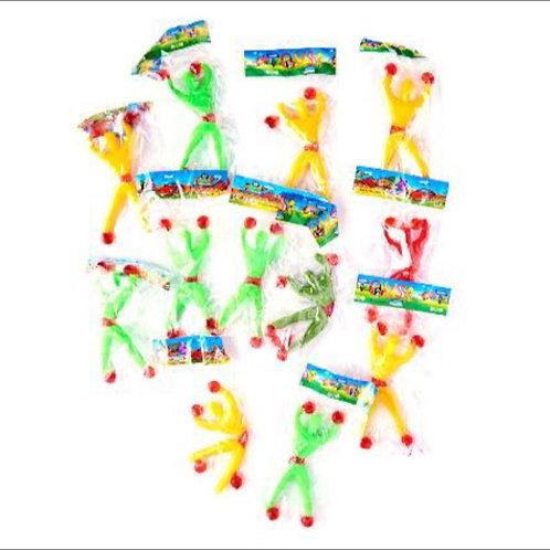 20pcs Retro Sticky Man Toy