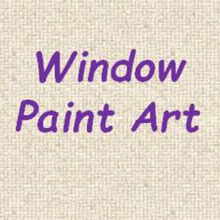 Window Paint Art