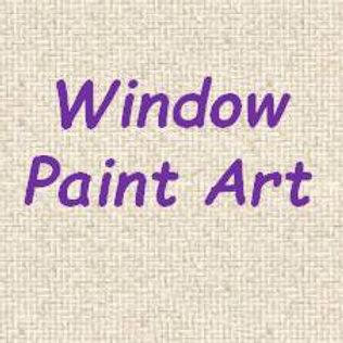 Window Paint Art