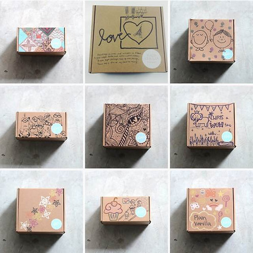 40pcs Candy Box / Bags Decorating Booth