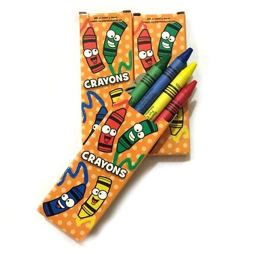 10boxes Crayons - 4pcs/box