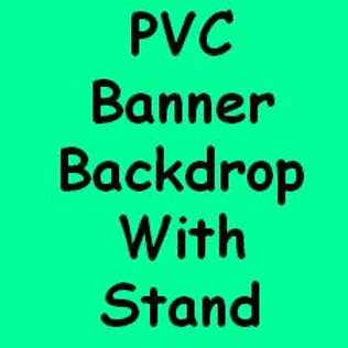 PVC Banner Backdrop With Stand