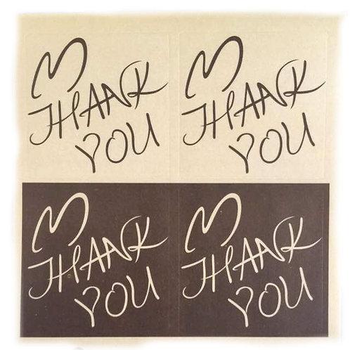 20pcs Sticker Seal - Thank You