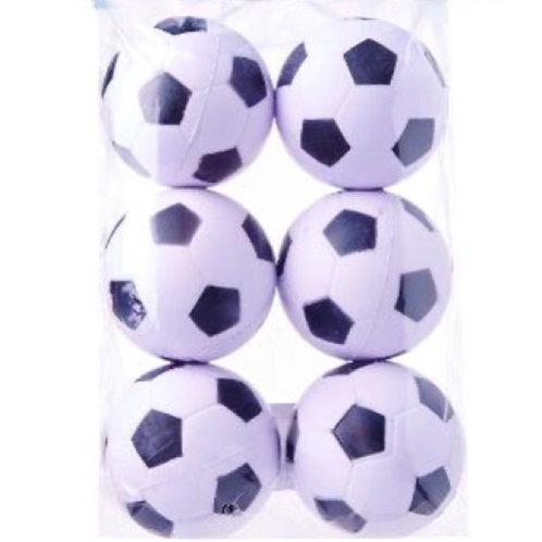 20pcs Bouncing Balls - Large Soccer White