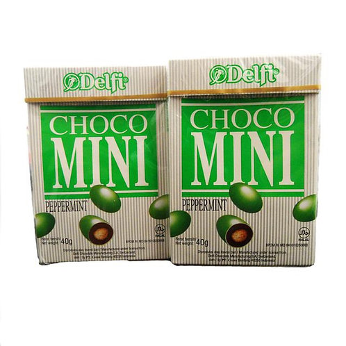 10pkts Choco Mini - Peppermint