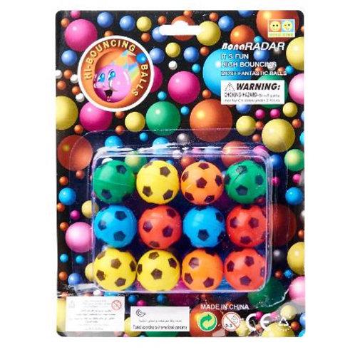 20pcs Bouncing Balls - Soccer Designs