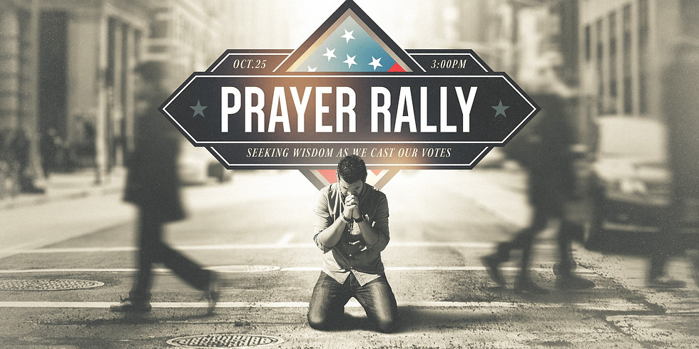 Outdoor Prayer Service