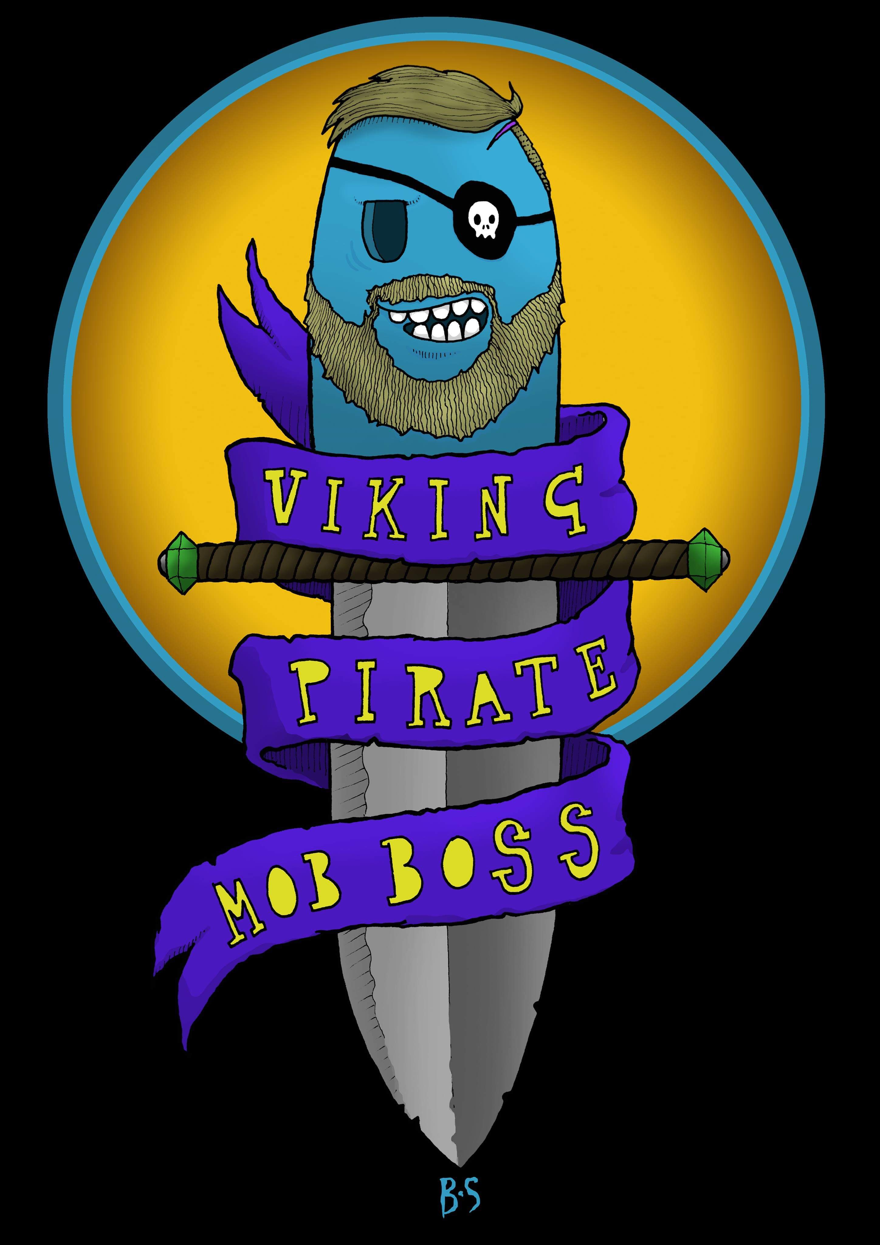 Viking Pirate Mob Boss