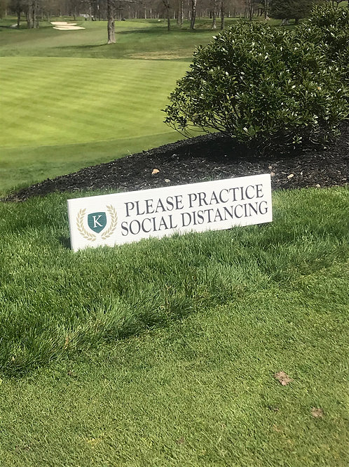 Lawn Marker Sign
