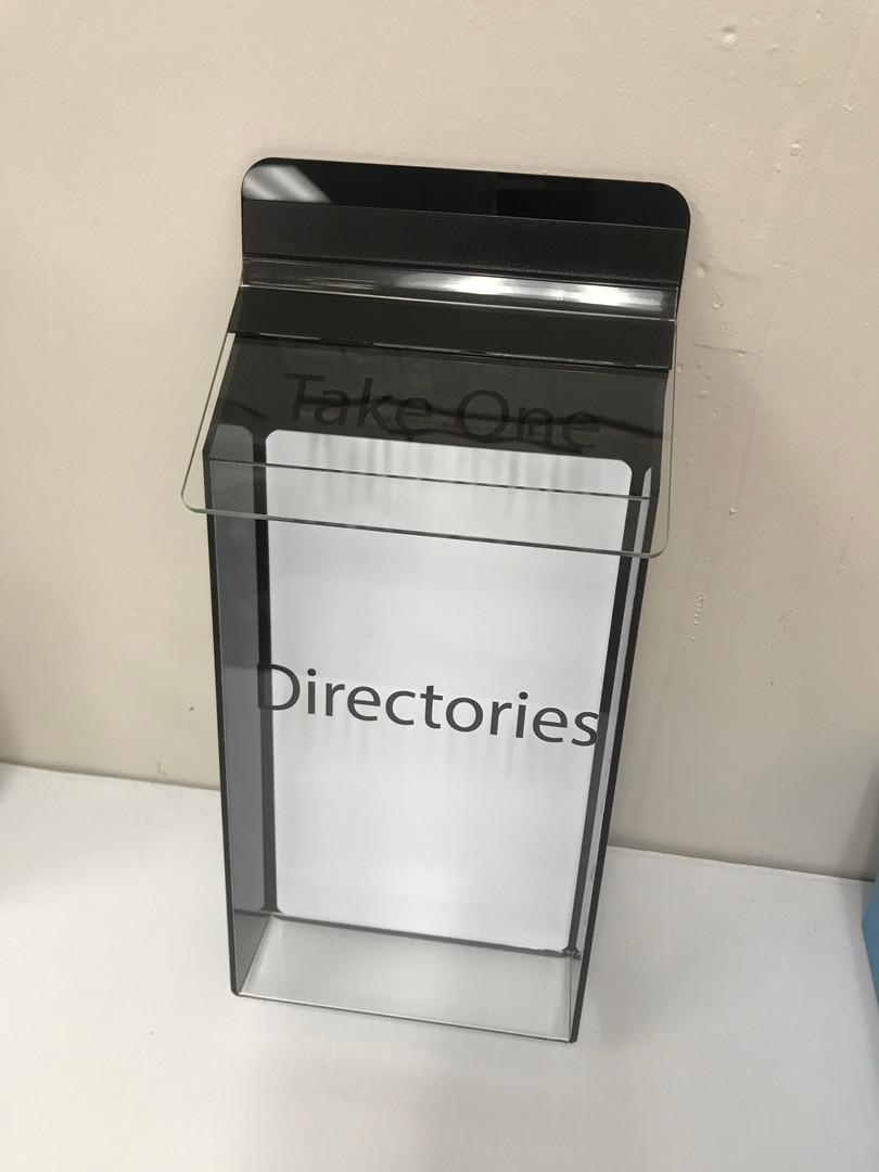 Weather-proof literature holder