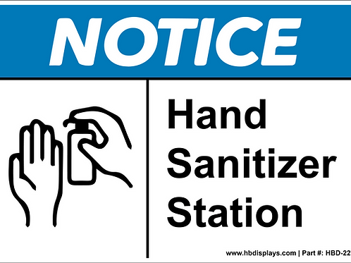 Hand Sanitize Station