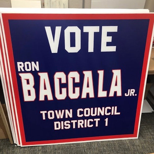 Advertising Lawn Signs/10 Pack