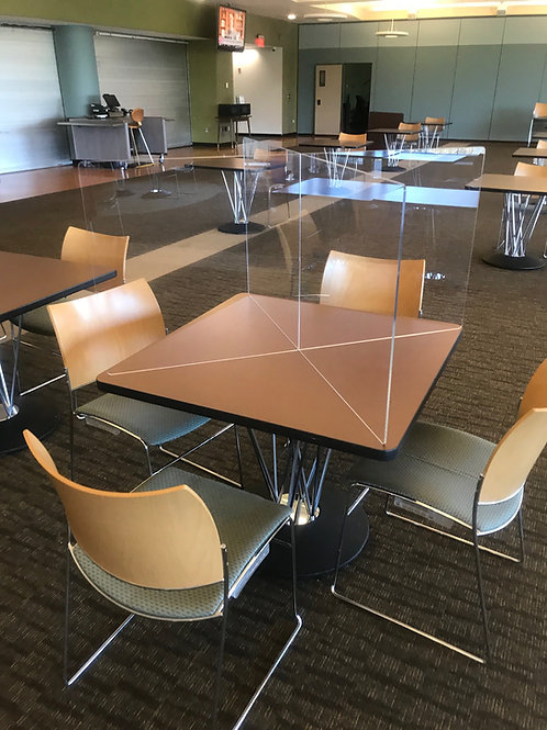 Social Distancing Table Divider