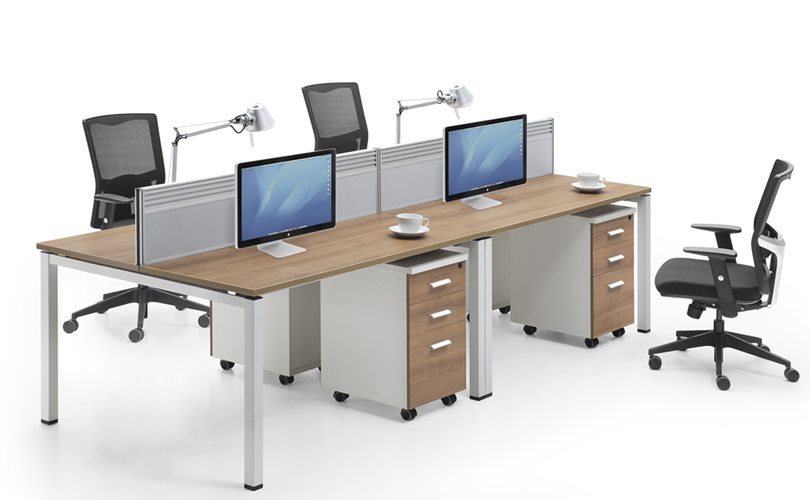 Workstation- Model 2 in a Cluster of 4 (Face-to-face)