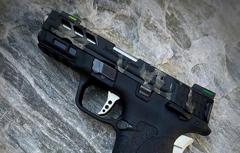 Custom Cerakote Smith & Wesson Pistol