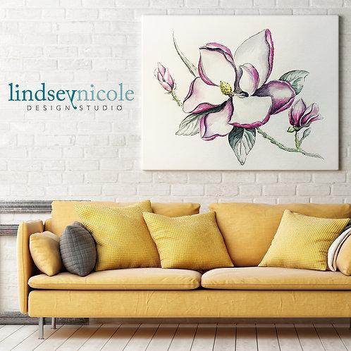 Magnolia Watercolor | ORIGINAL