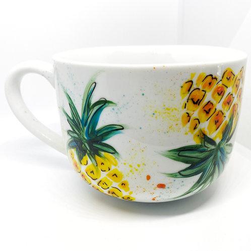 Pineapple Splatter | 16oz Mug