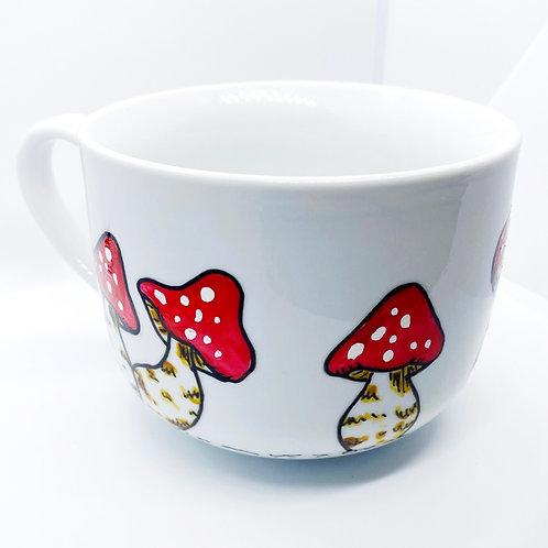 Mushroom Mug   16oz