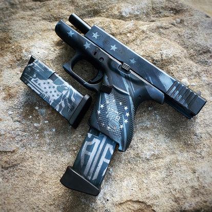 Custom Patriot Cerakote Glock_Amphibious Arms