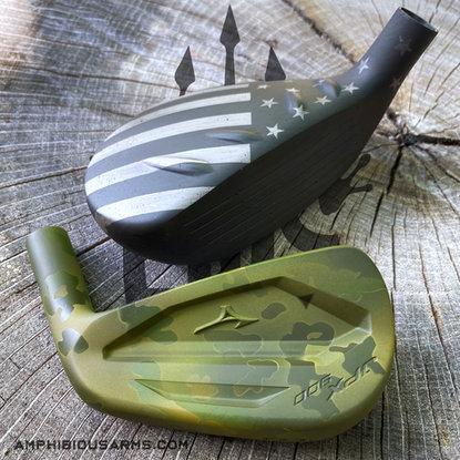 Cerakote Golf Clubs | Amphibious Arms | South Carolina