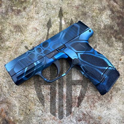 Blue Kryptek Cerakote _ Amphibious Arms