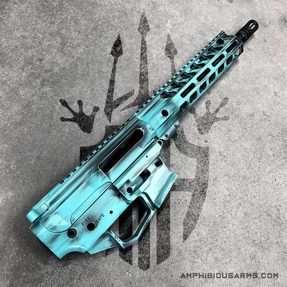 Cerakote AR in Robin's Egg Blue | Amphibious Arms