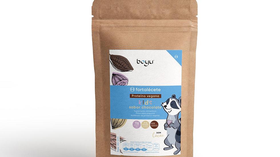 Proteina vegana para Niños sabor Chocolate