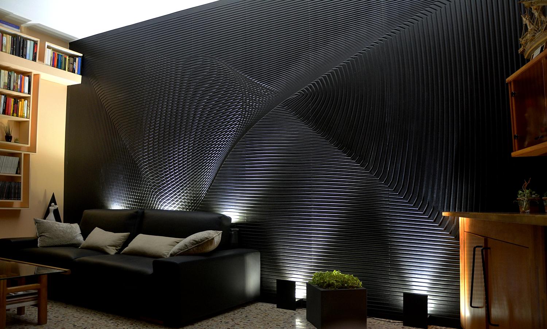 Eccezionale Trc panel pannelli tridimensionali MDF decorativi a parete UC84