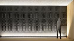 Pannello tridimensione per pareti