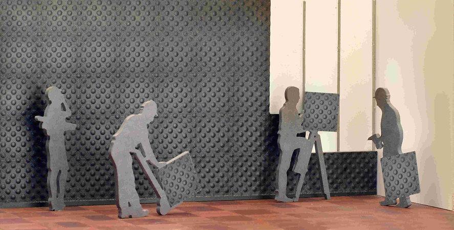 pannelli tridimensionali. pannelli ad onde, pannelli pantografati, pannelli 3D, pannelli decorativi a parete,boiserie