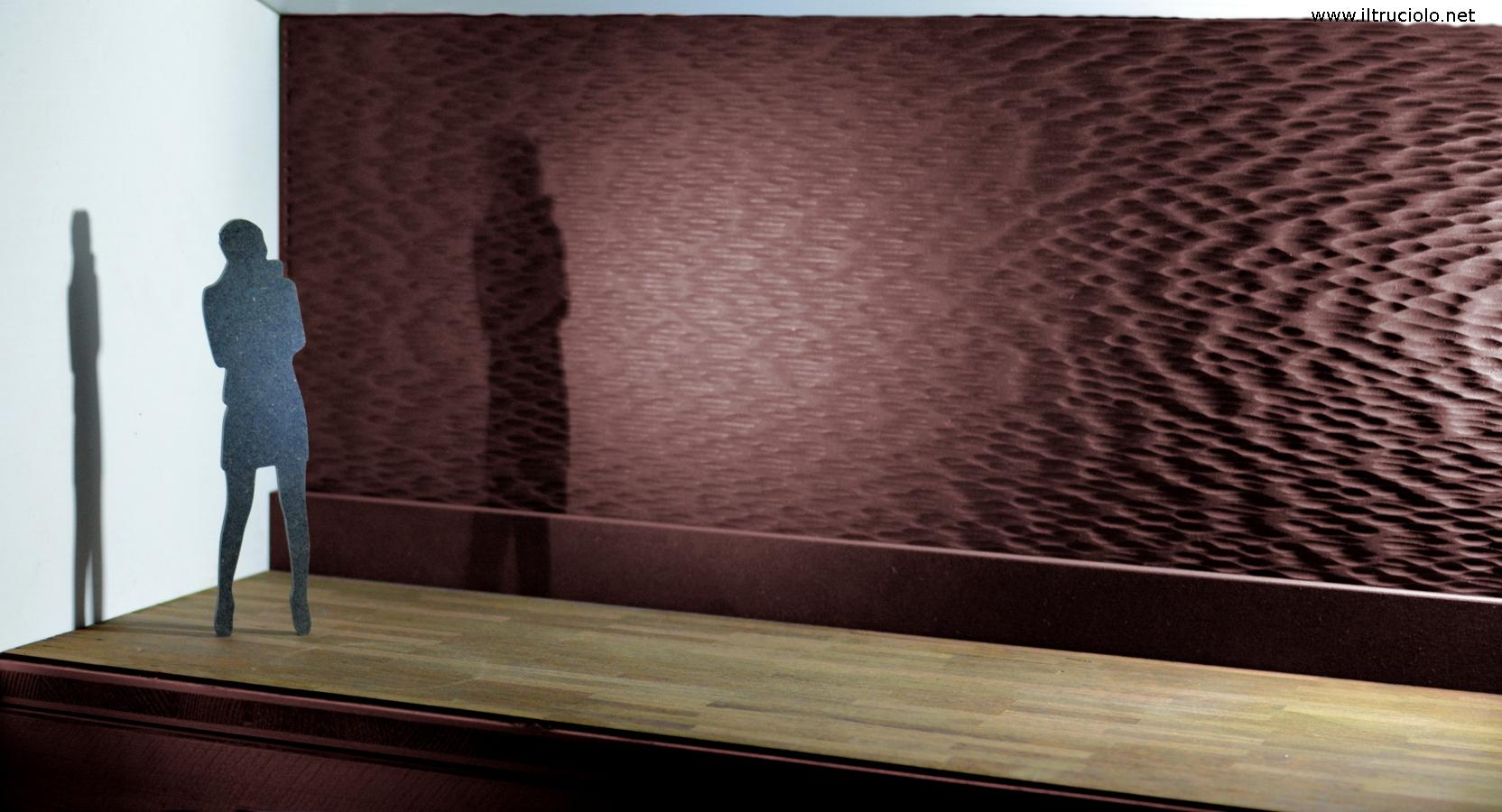 pannelli tridimensionali per interni