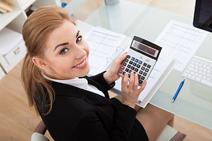 bigstock-Young-Businesswoman-Working-At-