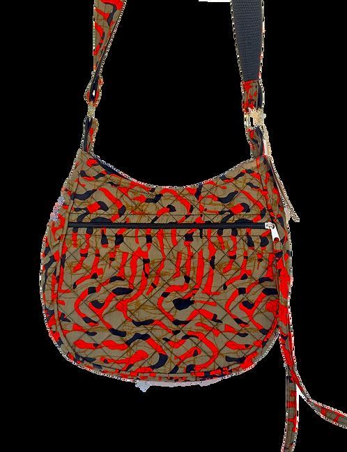 Kitenge 27 MoonShaped Bag