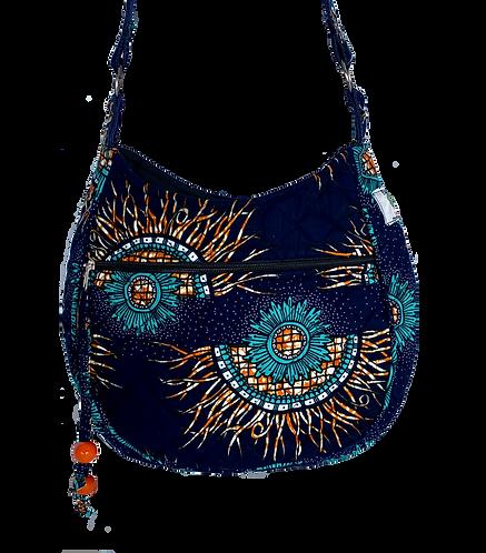 Kitenge 45 MoonShaped Bag