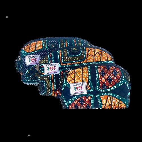 Kitenge 24 Cosmetics Bag