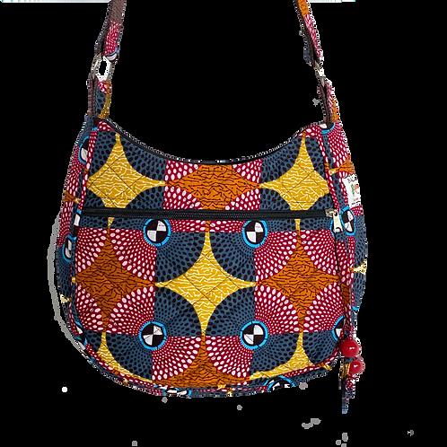 Kitenge 39 Moonshaped Bag