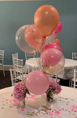 Jill Snyder - Bridal shower decorations.