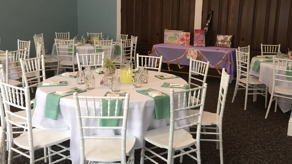 Jill Snyder - baby shower banquet room.J